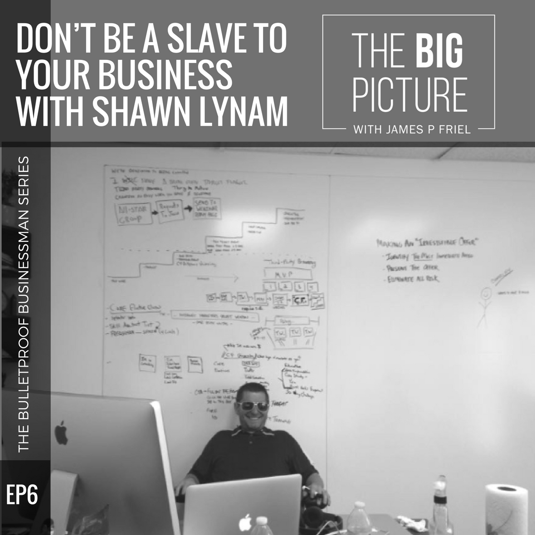 EP06: Shawn Lynam – Don't Be A Slave To Your Business